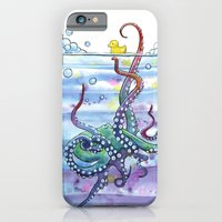 Bath Time Octopus iPhone 6 Slim Case
