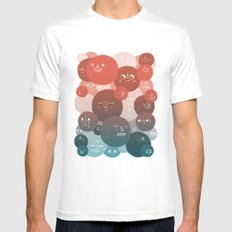 Blood Cells Mens Fitted Tee White SMALL