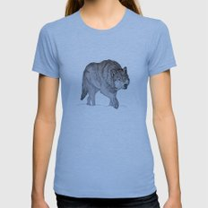 Winter is Coming Womens Fitted Tee Athletic Blue SMALL