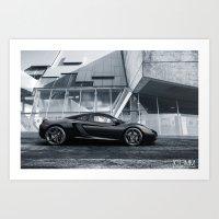 Mclaren MP4-12C Art Print