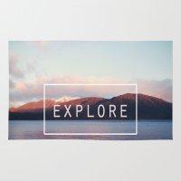 Explore. New Zealand Rug