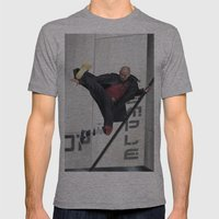 Sf Wyv 32 Mens Fitted Tee Athletic Grey SMALL