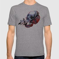 Reorientation Mens Fitted Tee Athletic Grey SMALL