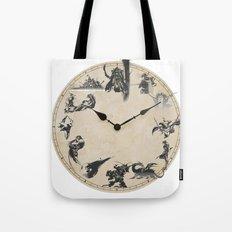 FINAL FANTASY CLOCK Tote Bag