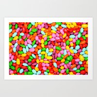 I Want Candy Art Print