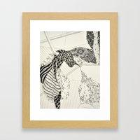 Skin Is Not Always A Bar… Framed Art Print