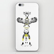 Hipster Totem iPhone & iPod Skin