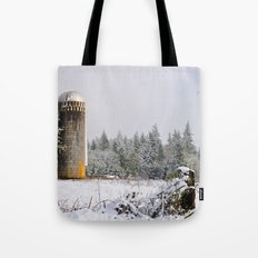 Remnants of a Simpler Time - The Silo Tote Bag