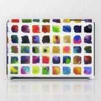 Watercolor Squares iPad Case