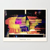 Textile Series - Woven Canvas Print
