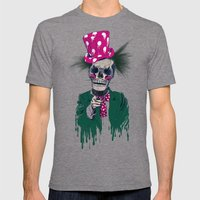 Skully Sam Mens Fitted Tee Tri-Grey SMALL