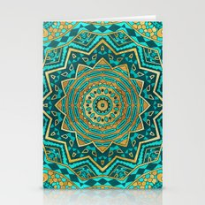 Blue Topaz Mandala Stationery Cards