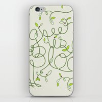 Green is in Bloom iPhone & iPod Skin