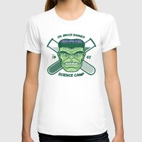 Dr. Banner Science Camp Womens Fitted Tee White SMALL