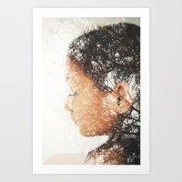 Mrs. Cold Art Print
