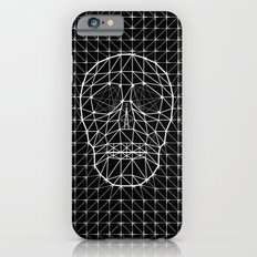 Triangle and Line Art Skull Slim Case iPhone 6s