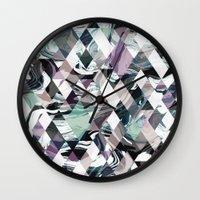 Diamond Rock Wall Clock