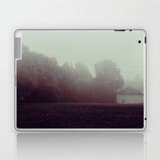 a foggy creepy morning Laptop & iPad Skin