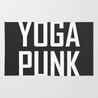 yoga punk Rug
