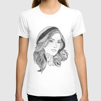 Inked 2 Womens Fitted Tee White SMALL