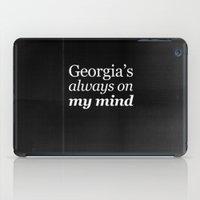 Georgia's Always On My M… iPad Case