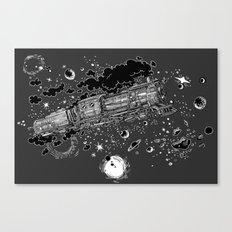 Space Train Canvas Print