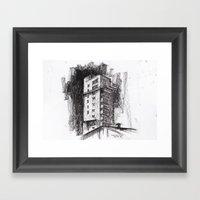 Tablattturm Stuttgart - … Framed Art Print