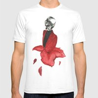 Petal Girl Mens Fitted Tee White SMALL