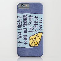 Cheese On It iPhone 6 Slim Case