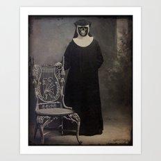The Nun Art Print