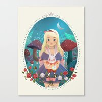 Alice in Wondeland Canvas Print