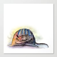 Tribal Mouse II Canvas Print