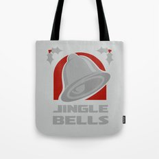 Jingle Bell - Silver Tote Bag