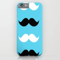 moustaches iPhone 6 Slim Case
