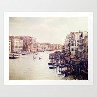 Venice Revisited Art Print