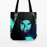 Scary Man Tote Bag