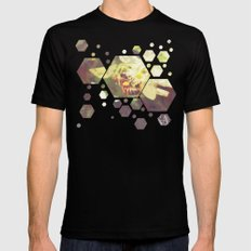 Honey Bee: Pearl Mens Fitted Tee SMALL Black