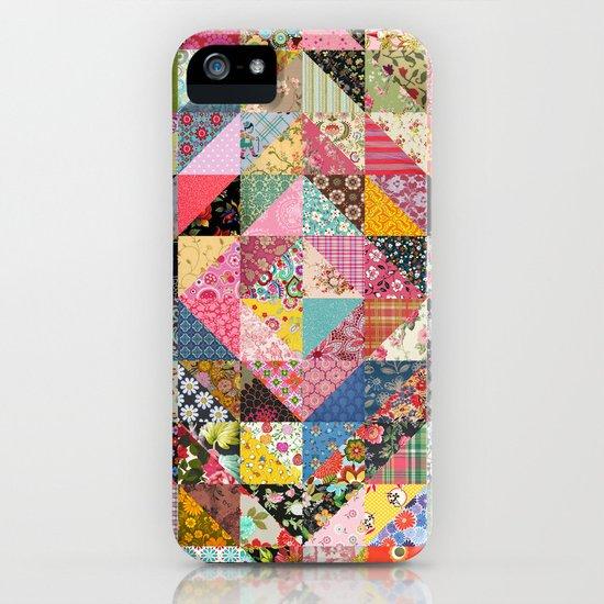 Grandma's Quilt iPhone & iPod Case