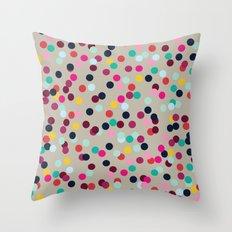 Confetti #2 Throw Pillow