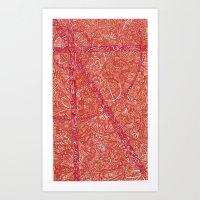 heat Art Print