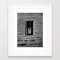 houseghost 2 Framed Art Print