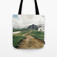 Colorado Mountain Road Tote Bag