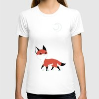 anime T-shirts featuring Moon Fox by Freeminds