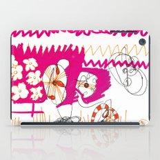 magenta and orange iPad Case