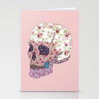 Liberty Skull Stationery Cards