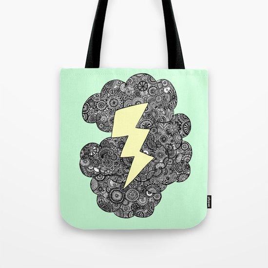 Storm Cloud Tote Bag