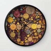 Enchanted Autumn -- Pain… Wall Clock