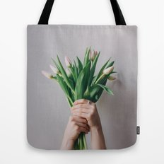 Yay Tulips! Tote Bag