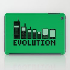 Cell Phone Evolution iPad Case