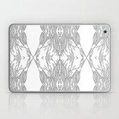 black line structure Laptop & iPad Skin